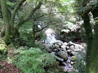 五塔の滝周辺の流れ_400
